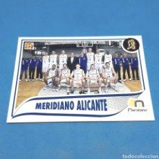 Coleccionismo deportivo: (C-34) CROMO PANINI - ACB 2009-2010 (MERIDIANO ALICANTE) N°200 PLANTILLA. Lote 206834206