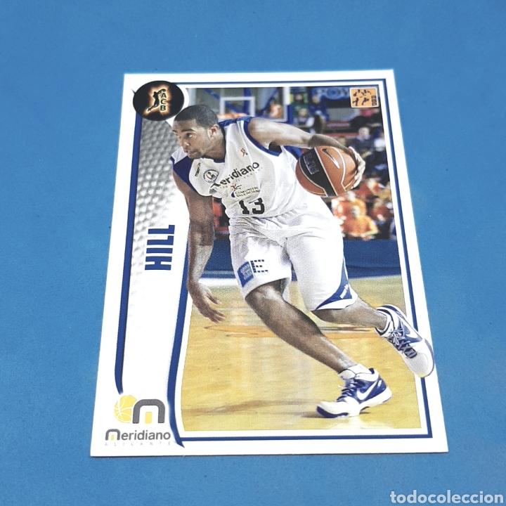 (C-34) CROMO PANINI - ACB 2009-2010 (MERIDIANO ALICANTE) N°204 HILL (Coleccionismo Deportivo - Cromos otros Deportes)
