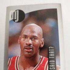 Collezionismo sportivo: MICHAEL JORDAN 112 NBA UPPER DECK 1998-99 MJ STICKER COLLECTION CHICAGO BULLS. Lote 206969330