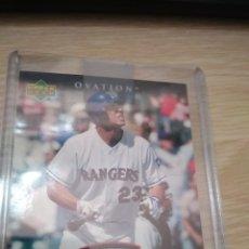 Coleccionismo deportivo: CROMO UPPER DECK TEIXEIRA MLB CAMISETA. Lote 207203485