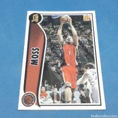 Coleccionismo deportivo: (C-34) CROMO PANINI - ACB 2009-2010 (CLUB BALONCESTO MURCIA) N°138 MOSS. Lote 207236765