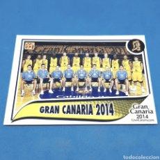 Coleccionismo deportivo: (C-34) CROMO PANINI - ACB 2009-2010 (GRAN CANARIA 2014) N°164 PLANTILLA. Lote 207242405