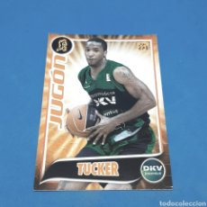 Coleccionismo deportivo: (C-34) CROMO PANINI - ACB 2009-2010 (DKV JOVENTUD) N°160 TUCKER. JUGON. Lote 207243907