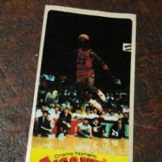 Coleccionismo deportivo: CROMO CHICLE GIGANTES DEL BASKET N°3- MICHAEL JORDAN, 1987.SIN PEGAR. MUY DIFÍCIL!!!. Lote 207247638