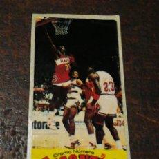 Coleccionismo deportivo: CROMO CHICLE GIGANTES DEL BASKET N°5- DOMINIQUE WILKINS, 1987.SIN PEGAR. MUY DIFÍCIL!!!. Lote 207247722