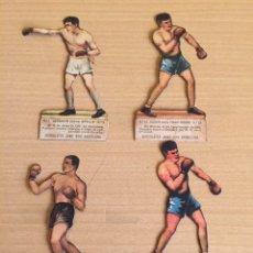 Coleccionismo deportivo: BOXEO LOTE DE CROMOS TROQUELADOS JAIME BOIX. Lote 207277072