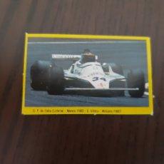Coleccionismo deportivo: GO ITALIA LOTERIA MONZA 1980 E VILLOTA WILLIAMS FW07 GRAN PRIX FORD DANONE. Lote 207469667