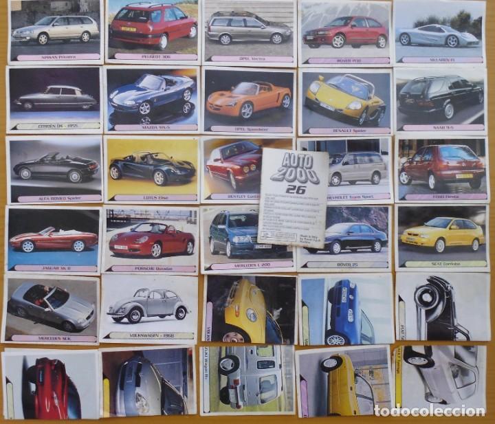 Coleccionismo deportivo: CROMO AUTO 2000 SIN PEGAR . PANINI 1999 PRECIO DEL CONJUNTO - Foto 2 - 207816772