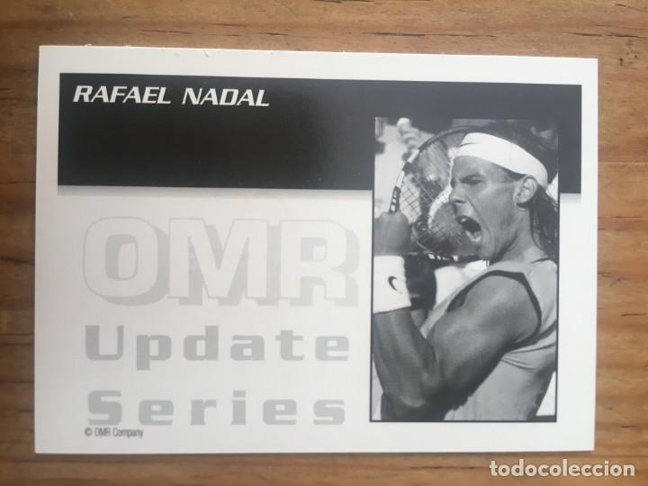 Coleccionismo deportivo: R9699 CROMO EDICION LIMITADA 1 DE 250 RAFAEL NADAL TENIS OMR UPDATE SERIES PERFECTO ESTADO 2003 - Foto 2 - 209926077