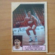 Coleccionismo deportivo: CROMO CONVERSE BALONCESTO 1988 89 Nº 127 BOSCH (PAMESA VALENCIA) - BASKET 1988 89. Lote 210462433