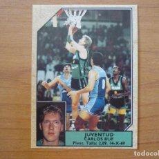 Coleccionismo deportivo: CROMO CONVERSE BALONCESTO 1988 89 Nº 174 CARLES RUF (JOVENTUT BADALONA) - BASKET 1988 89. Lote 210462633
