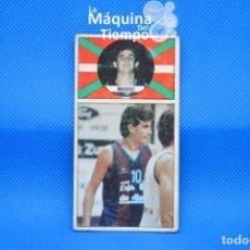 Coleccionismo deportivo: CROMO Nº54 IÑAKI MADOZ (CAJA DE ÁLAVA). NUNCA PEGADO LIGA BALONCESTO 1986 1987 MERCHANTE CONVERSE. Lote 210485558