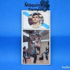 Coleccionismo deportivo: CROMO Nº59 MANUEL ALLER (CLESA FERROL). DESPEGADO LIGA BALONCESTO 1986 1987 MERCHANTE CONVERSE.. Lote 210488973