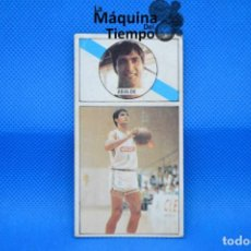 Coleccionismo deportivo: CROMO Nº60 ALBERTO ABALDE (CLESA FERROL). NUNCA PEGADO LIGA BALONCESTO 1986 1987 MERCHANTE CONVERSE.. Lote 210489980
