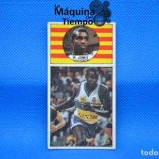 Coleccionismo deportivo: CROMO Nº71 WILLIE JONES (ESPAÑOL). NUNCA PEGADO LIGA BALONCESTO 1986 1987 MERCHANTE CONVERSE.. Lote 210491596