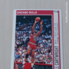 Coleccionismo deportivo: DOBLE CROMO Nº 114 BILL CARTWRIGHT Y Nº 108 JOHNNY NEWMAN - NBA 91 92. Lote 210562230