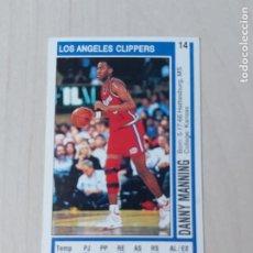 Coleccionismo deportivo: DOBLE CROMO Nº 14 DANNY MANNING Y Nº 25 XAVIER MCDANIEL - NBA 91 92. Lote 210562357