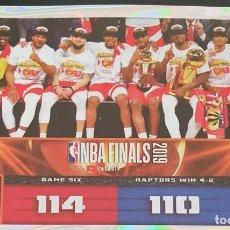 Coleccionismo deportivo: CROMO ESPECIAL Nº 31 NBA 2019-20 PANINI 2019 BALONCESTO. Lote 211560151
