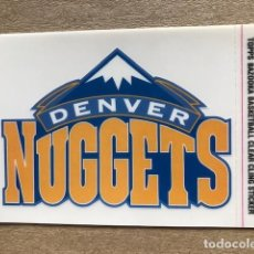 Coleccionismo deportivo: TOPPS BAZOOKA BASKETBALL CLEAR CLING STICKER NBA DENVER NUGGETS 2005 C7. Lote 214629493