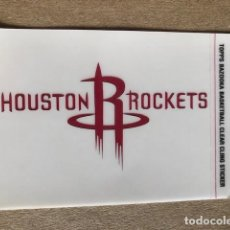 Coleccionismo deportivo: TOPPS BAZOOKA BASKETBALL CLEAR CLING STICKER NBA HOUSTON ROCKETS 2005 C7. Lote 214629928