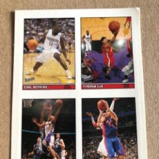 Coleccionismo deportivo: TOPPS BAZOOKA BASKETBALL CLEAR CLING STICKER NBA STICKER 28 OF 55 2005 C7. Lote 214630551