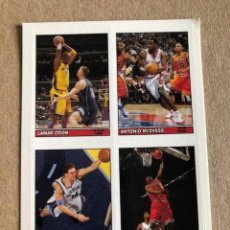 Coleccionismo deportivo: TOPPS BAZOOKA BASKETBALL CLEAR CLING STICKER NBA STICKER 38 OF 55 2005 C7. Lote 214630583