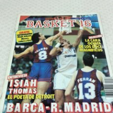 Coleccionismo deportivo: 1988 MAGIC JOHNSON REVISTA BASKET 16 N 33. Lote 216949918