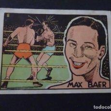 Coleccionismo deportivo: ANTIGUO CROMO BOXEO - MAX BAER. Lote 217047896