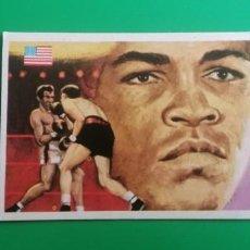 Coleccionismo deportivo: CASSIUS CLAY 1979 QUELCOM SIN PEGAR. Lote 218270272