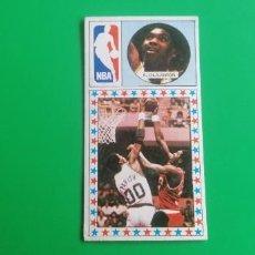 Coleccionismo deportivo: A. OLAJUWON ROOKIE 1986 CARD MERCHANTE. Lote 218270917