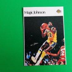 Coleccionismo deportivo: MAGIC JOHNSON 1986 SUPER CANASTA SIN PEGAR. Lote 218272110