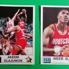 Coleccionismo deportivo: OLAJUWON NBA 90 PANINI SIN PEGAR 2 STICKERS. Lote 218272711