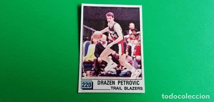 DRAZEN PETROVIC ROOKIE STICKER NBA 90 PANINI SIN PEGAR (Coleccionismo Deportivo - Cromos otros Deportes)