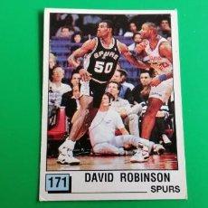 Coleccionismo deportivo: DAVID ROBINSON ROOKIE STICKER NBA 90 PANINI SIN PEGAR. Lote 218272822