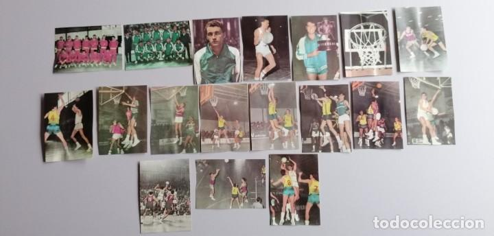 1968 LOTE DE 18 CROMOS DE BALONCESTO EMILIANO ETC (Coleccionismo Deportivo - Cromos otros Deportes)