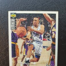 Coleccionismo deportivo: SPUD WEBB 1994-95 NBA #89 UPPER DECK COLLECTOR'S CHOICE SACRAMENTO KINGS. Lote 219605646