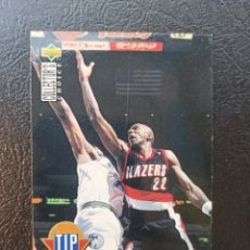 Coleccionismo deportivo: CLYDE DREXLER 1994-95 NBA #187 UPPER DECK COLLECTOR'S CHOICE PORTLAND TRAIL BLAZERS. Lote 219606447