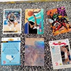 Coleccionismo deportivo: LOTE DE 6 TARJETAS CROMOS DE NBA BALONCESTO. Lote 220918731