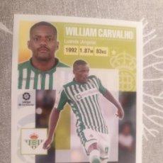 Coleccionismo deportivo: 2020 / 2021 20 21 Nº 12 A WILLIAM CARVALHO BETIS LIGA ESTE NUEVO DE SOBRE PANINI. Lote 288713863