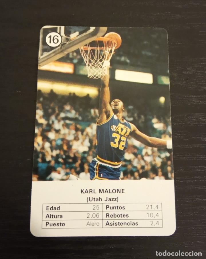 -ESTRELLAS DE LA NBA 1988 : KARL MALONE ( UTAH JAZZ ) (Coleccionismo Deportivo - Cromos otros Deportes)