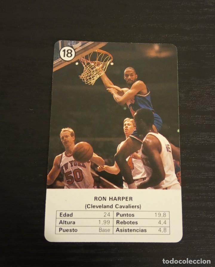 -ESTRELLAS DE LA NBA 1988 : RON HARPER ( CLEVELAND CAVALIERS ) (Coleccionismo Deportivo - Cromos otros Deportes)
