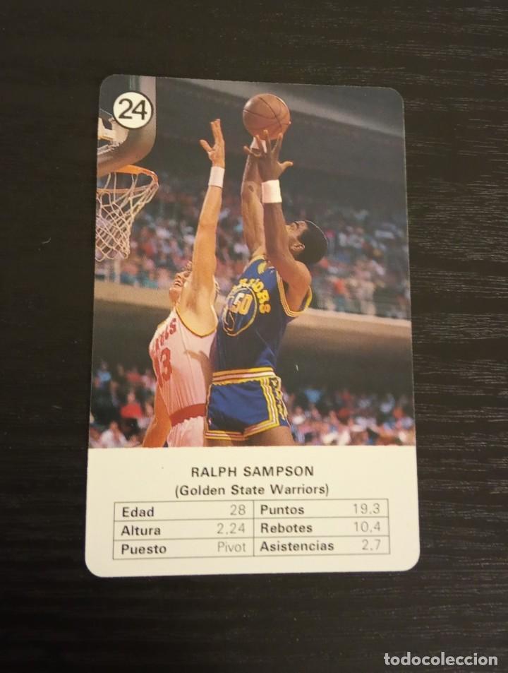 -ESTRELLAS DE LA NBA 1988 : RALPH SAMPSON ( GOLDEN STATE WARRIORS ) (Coleccionismo Deportivo - Cromos otros Deportes)