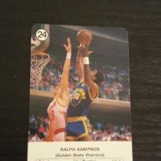 Coleccionismo deportivo: -ESTRELLAS DE LA NBA 1988 : RALPH SAMPSON ( GOLDEN STATE WARRIORS ). Lote 221624810