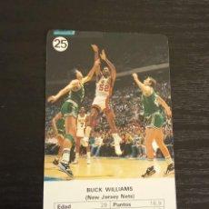 Coleccionismo deportivo: -ESTRELLAS DE LA NBA 1988 : BUCK WILLIAMS ( NEW JERSEY NETS ). Lote 221624921