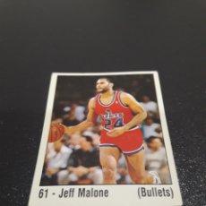 Coleccionismo deportivo: JEFF MALONE N° 61. PANINI NBA 89. SIN PEGAR. Lote 221681980