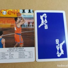Coleccionismo deportivo: OSCAR SCHMIDT FORUN VALLADOLID ACB 93-94 FOURNIER. Lote 221710208