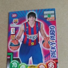 Coleccionismo deportivo: ACB 2010 2011 10-11 PANINI Nº 331 RICKY RUBIO BARCELONA TIMBERWOLVES. Lote 221729332