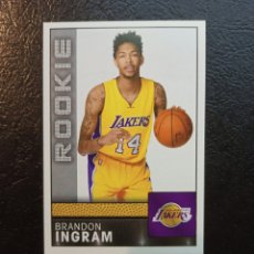 Coleccionismo deportivo: BRANDON INGRAM ROOKIE #338 NBA BASKETBALL 2016-17 LOS ANGELES LAKERS. Lote 221938996