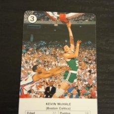 Coleccionismo deportivo: -ESTRELLAS DE LA NBA 1988 : KEVIN MCHALE ( BOSTON CELTICS ) BASKET CARD SPAIN. Lote 221964533