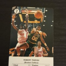Coleccionismo deportivo: -ESTRELLAS DE LA NBA 1988 : ROBERT PARISH ( BOSTON CELTICS ) BASKET CARD SPAIN. Lote 221964618